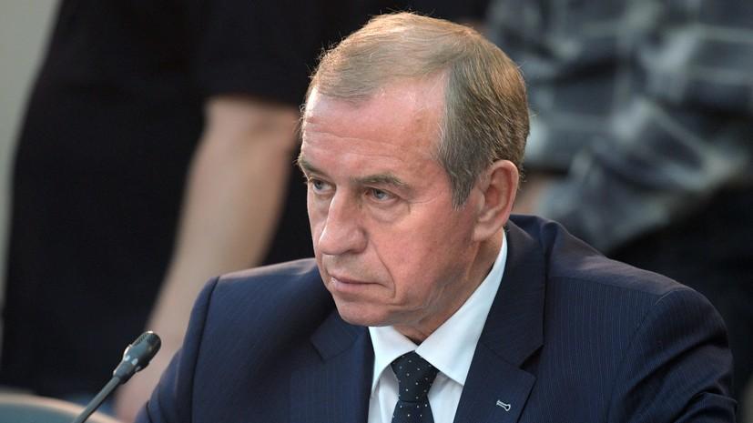 Губернатор Иркутской области предложил поднять свой оклад на 44%