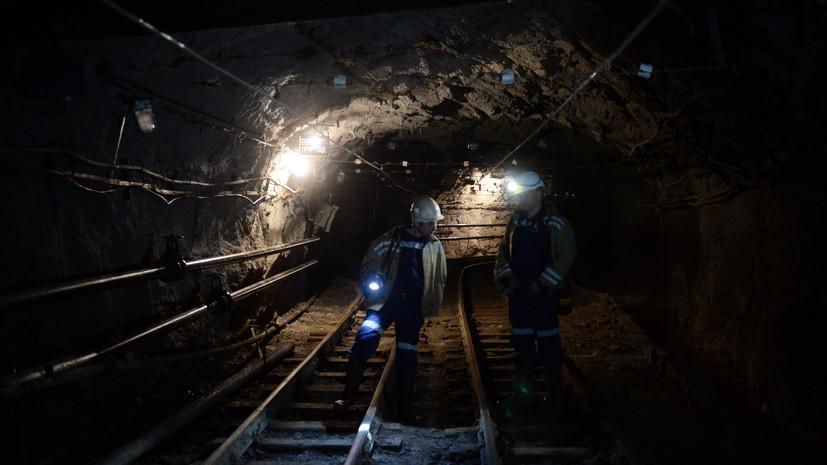 В Хакасии произошло обрушение породы в шахте