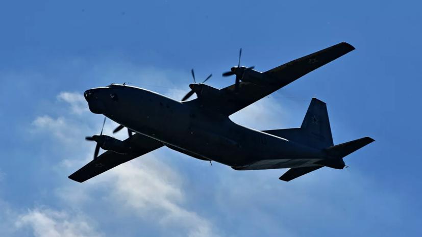 Названа предварительная причина аварийной посадки самолёта Ан-12