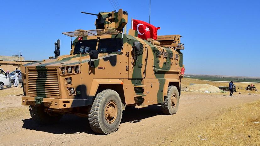 Курды заявили о десятках погибших в ходе операции Турции в Сирии