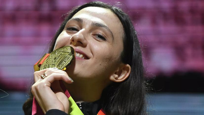 Путин лично поздравил Ласицкене с победой на ЧМ по лёгкой атлетике