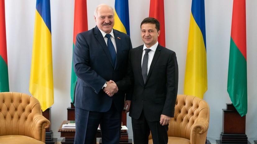 Зеленский отреагировал на сравнение его с Лукашенко
