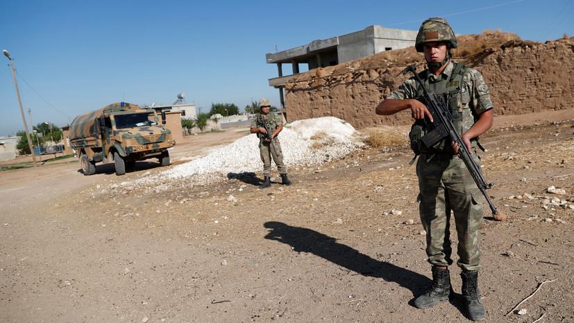 Первый турецкий военный погиб во время операции в Сирии