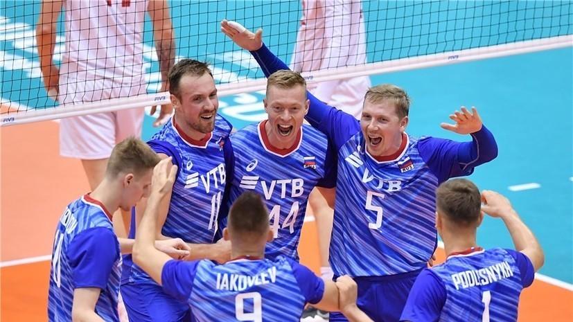 Мужская сборная России победила Италию на КМ по волейболу