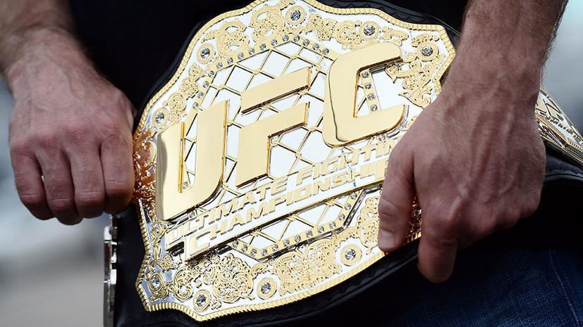Девушка — боец UFC проведёт бой через четыре месяца после рождения ребёнка