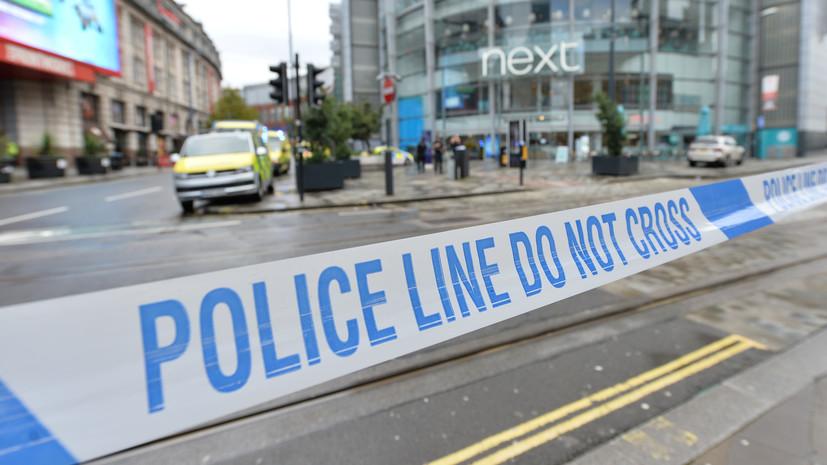 Напавший на людей в Манчестере подозревается в совершении теракта