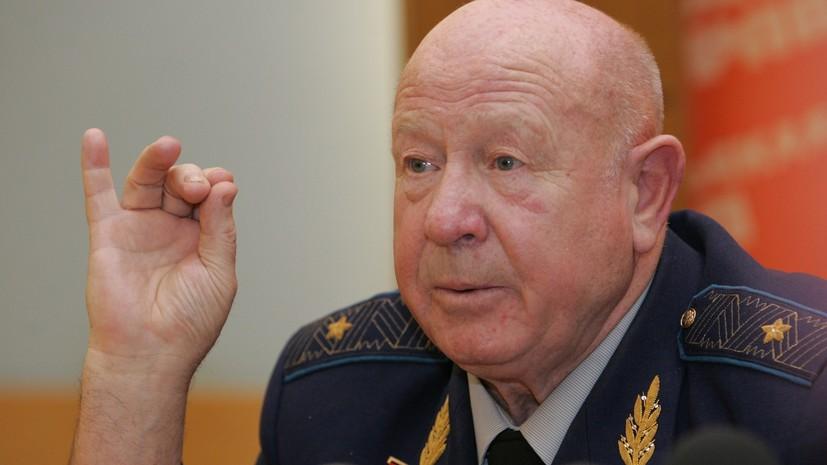 Герой России Виноградов назвал смерть Леонова огромной потерей