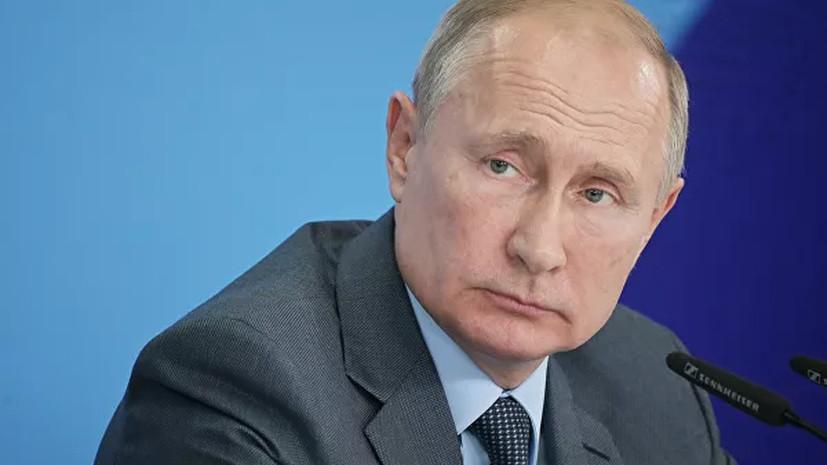Путин заявил, что Кубок Кремля внёс уникальный вклад в популяризацию тенниса