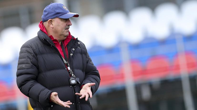 Черчесов рассказал о состоянии Фернандеса и Баринова перед матчем с Кипром