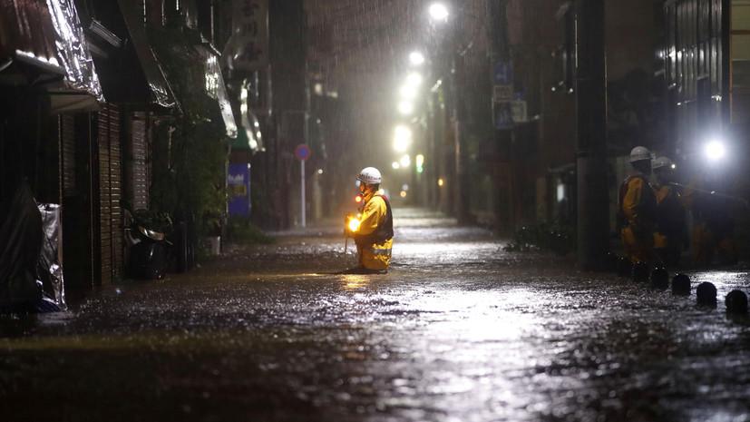 Россия может помочь Японии в связи с тайфуном «Хагибис»