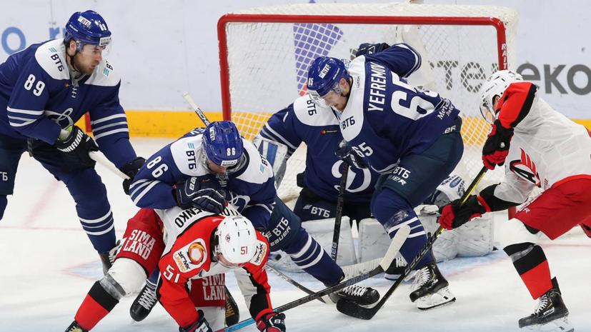 Ассистентский хет-трик Шипачёва помог «Динамо» обыграть «Автомобилист» в КХЛ