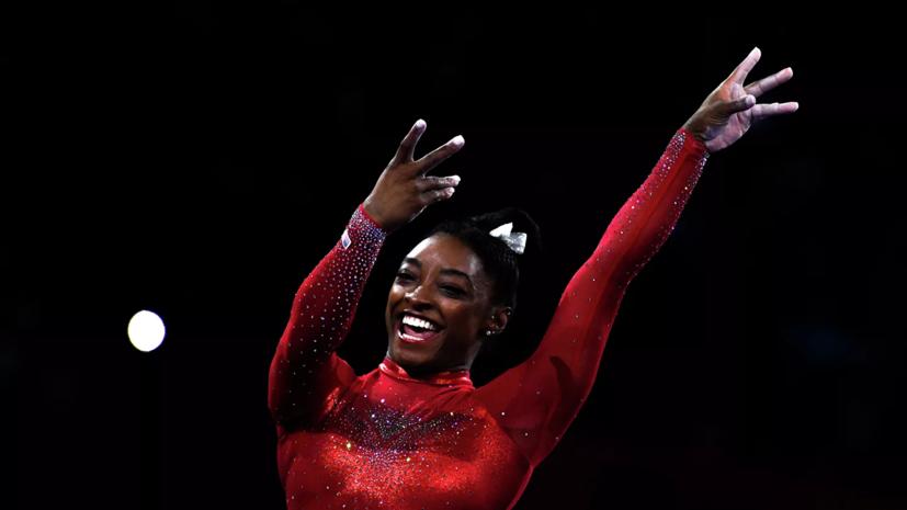 Байлз побила рекорд Щербо по количеству наград ЧМ по спортивной гимнастике