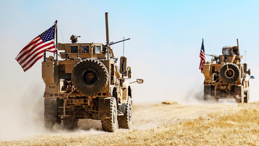 США выведут 1000 военных с севера Сирии из-за операции Турции
