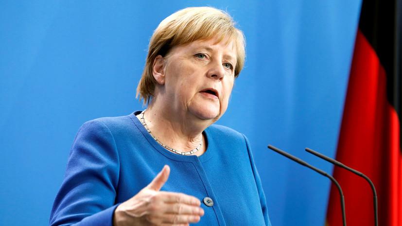 Меркель по телефону призвала Эрдогана прекратить операцию в Сирии