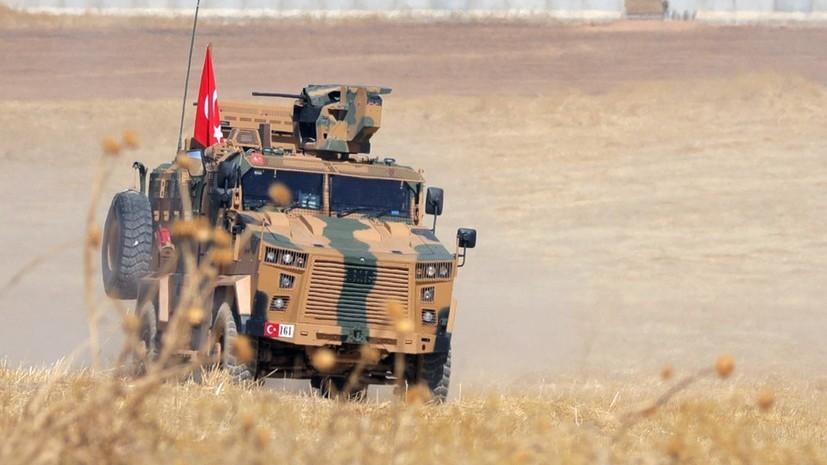 Турция взяла под контроль сирийский Телль-Абъяд