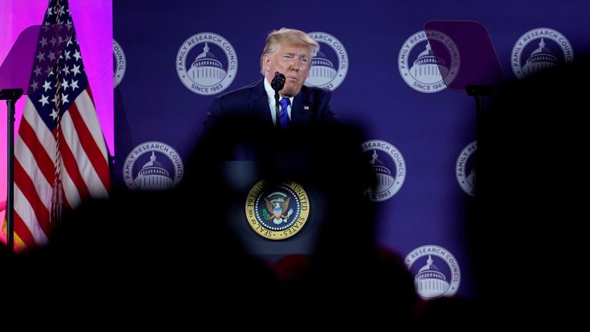Трамп заявил о готовности ввести «мощные санкции» против Турции