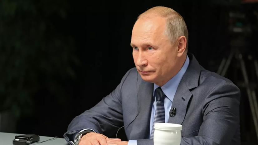 Путин сообщил об уникальности гиперзвукового оружия России