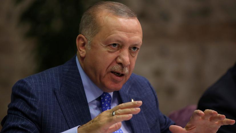 Эрдоган опроверг заявления о бегстве боевиков ИГ из тюрьмы в Сирии