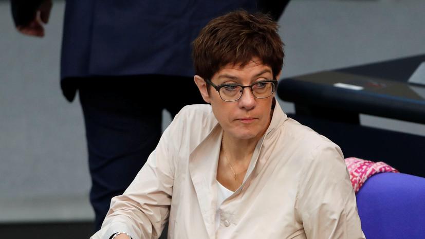 В Госдуме оценили слова главы ХДС об отношениях России и Германии