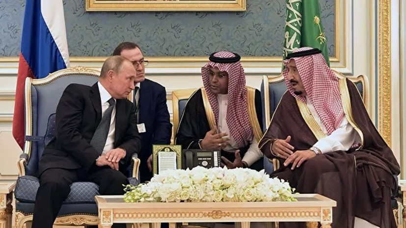 В Совфеде прокомментировали визит Путина в Саудовскую Аравию