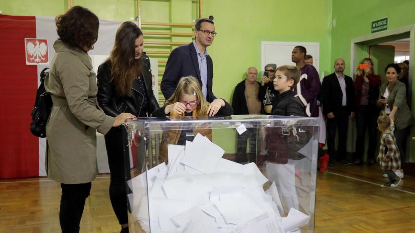 В Польше обработали 100% бюллетеней на парламентских выборах