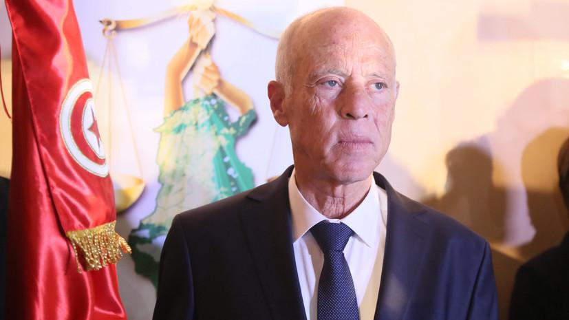 Каис Саид победил на выборах президента Туниса