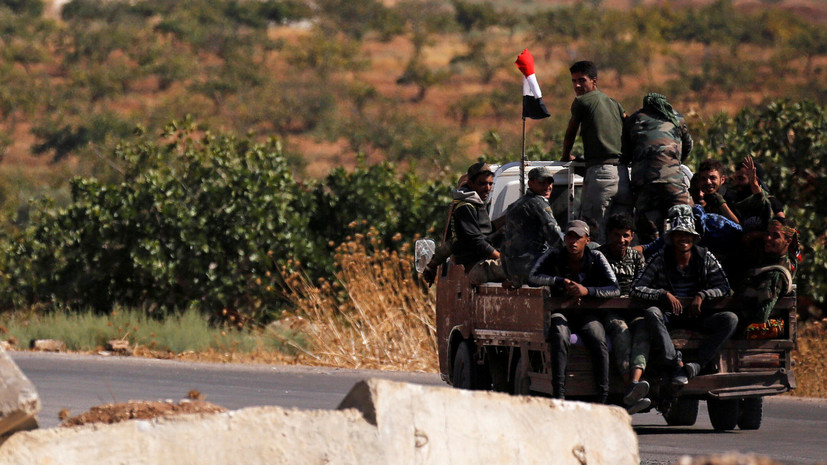СМИ: Сирийские войска входят в Манбидж