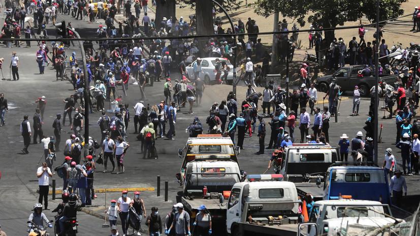Вызвавший протесты в Эквадоре указ отзовут в течение нескольких часов