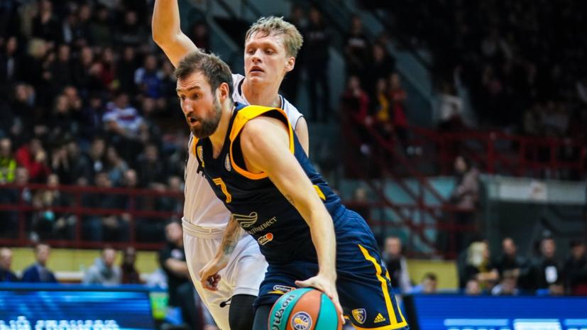 «Химки» одержали четвёртую победу подряд в Единой лиге ВТБ