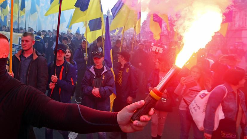 Полиция Киева насчитала до 12 тысяч участников акции в центре города
