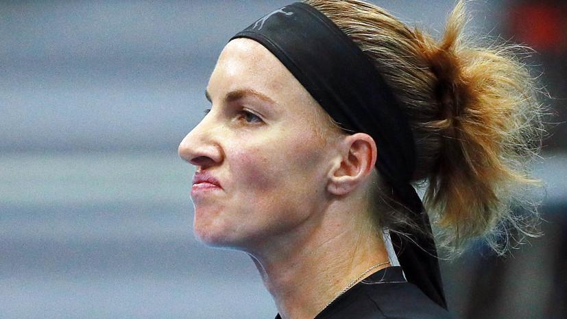 Кузнецова уступила Муховой в первом круге Кубка Кремля