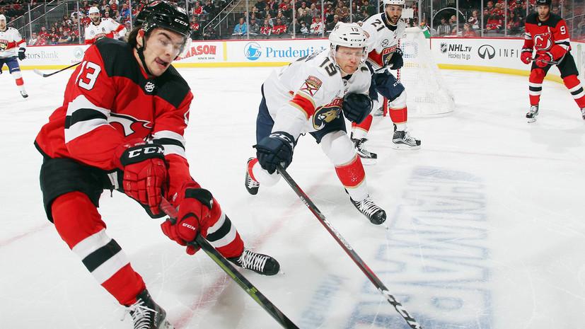 Два очка Дадонова помогли «Флориде» нанести «Нью-Джерси» шестое поражение подряд в НХЛ