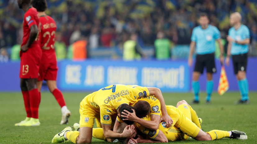 Шевченко сравнил игроков сборной Украины со львами после победы над командой Португалии
