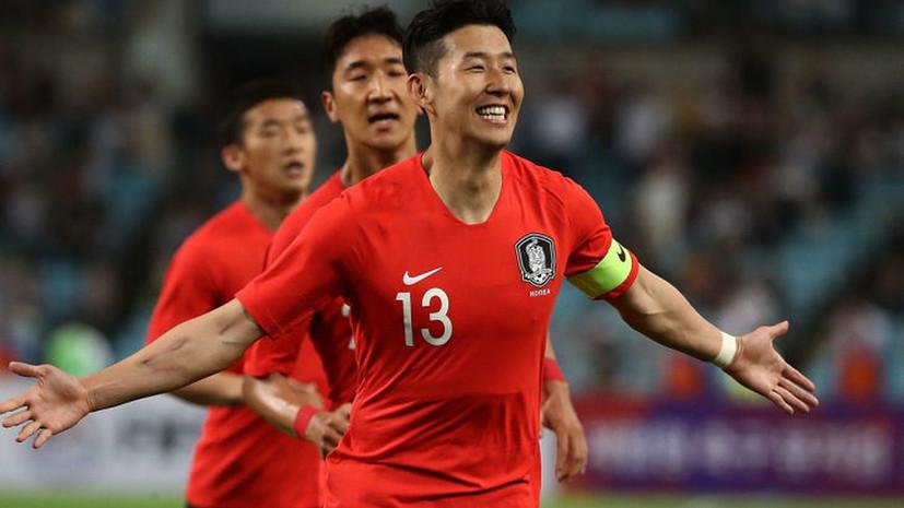 Южная Корея сыграла 1-ый за29 лет футбольный матч вКНДР