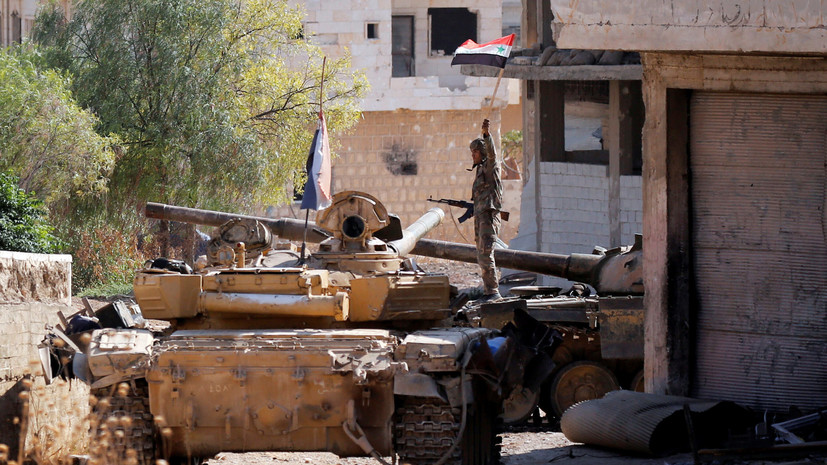 Армия Сирии взяла под контроль Манбидж и его окрестности