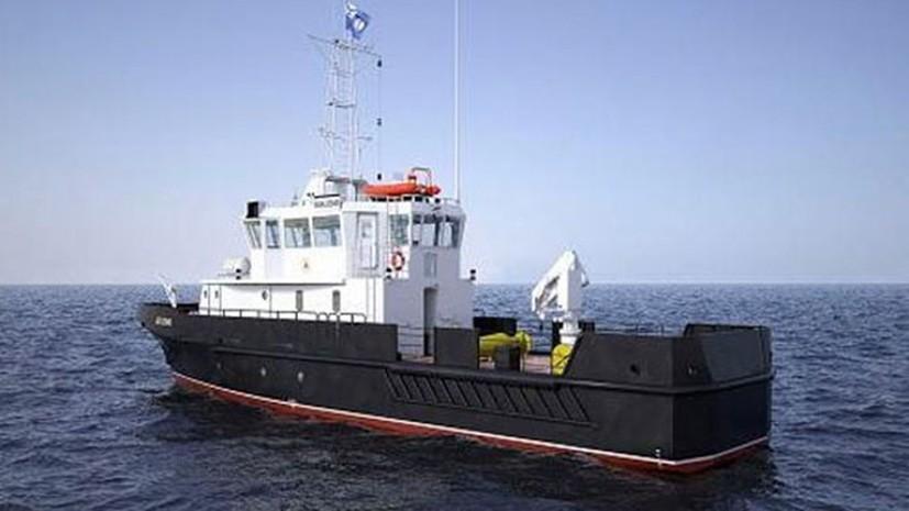 ЧФ получит два больших гидрографических катера в ноябре