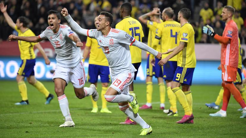 Определились шесть из 24 участников футбольного Евро-2020