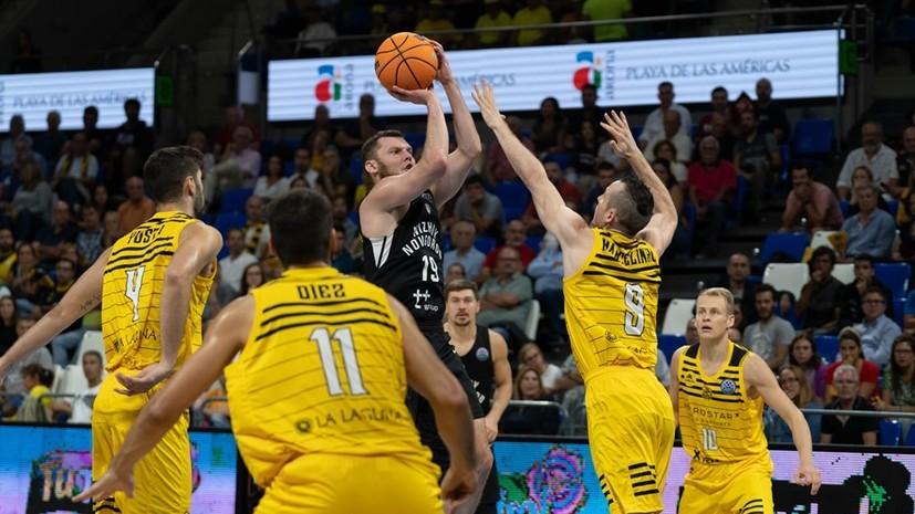 «Нижний Новгород» уступил «Тенерифе» в стартовом матче основного раунда баскетбольной ЛЧ