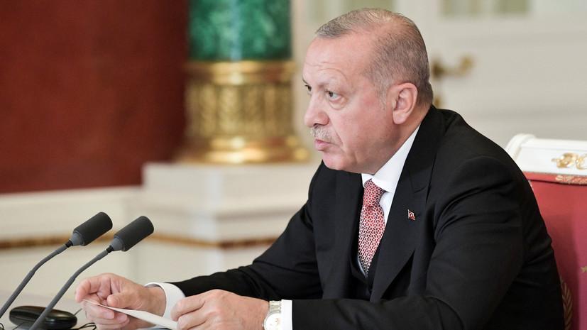 Песков назвал возможные сроки визита Эрдогана в Россию