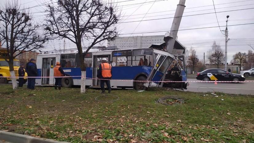 Число пострадавших в ДТП с троллейбусом в Чебоксарах возросло до 26