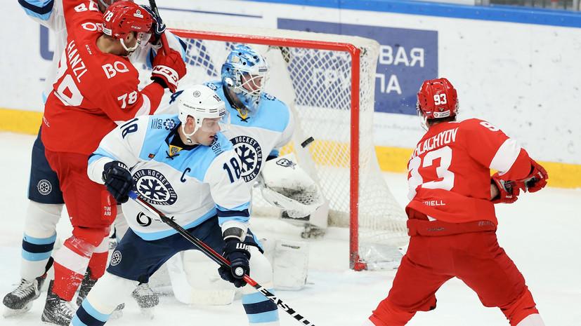 «Спартак» потерпел третье поражение подряд в КХЛ