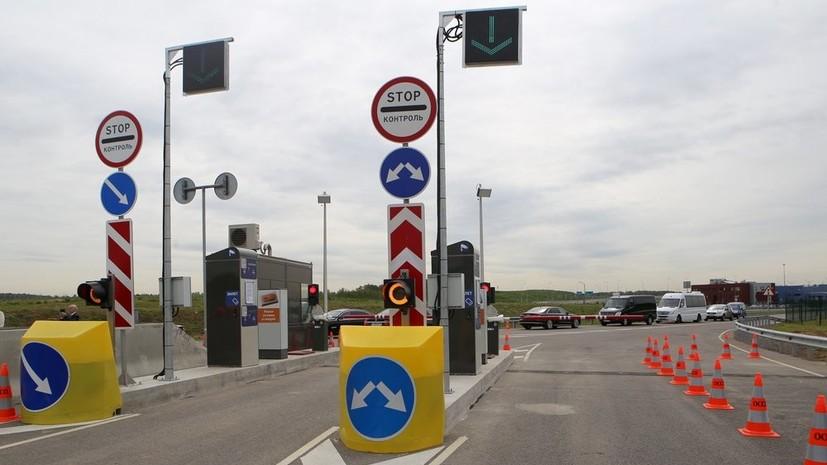 ГИБДД поддержала идею лимита скорости на платных трассах в 130 км/ч