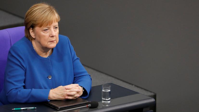 Меркель заявила об отсутствии планов поставлять оружие Турции
