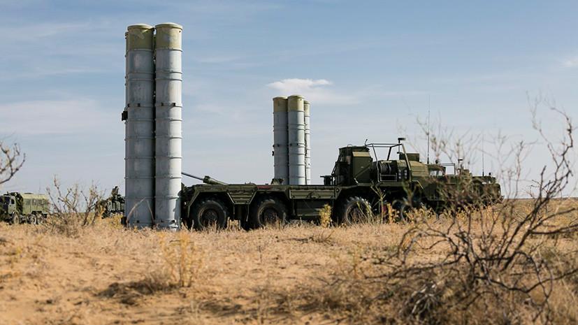 В Крыму прошли учения с участием зенитно-ракетных комплексов С-400