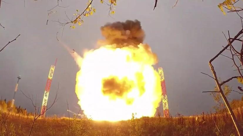 Минобороны провело в рамках учений пуски ракет под руководством Путина