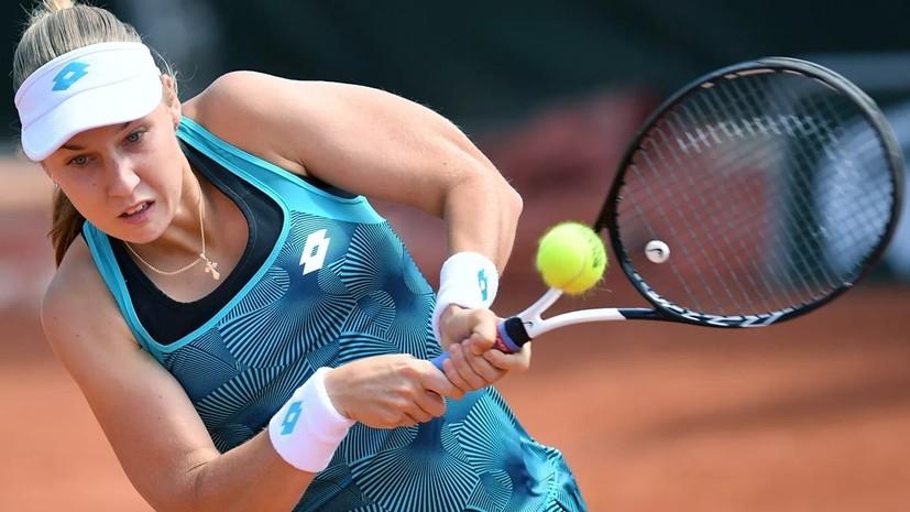 Блинкова вышла в четвертьфинал турнира WTA в Люксембурге, где сыграет с Гаспарян