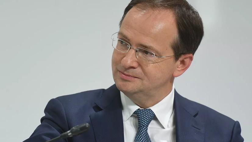 Мединский рассказал Путину о борьбе с «киножуликами»