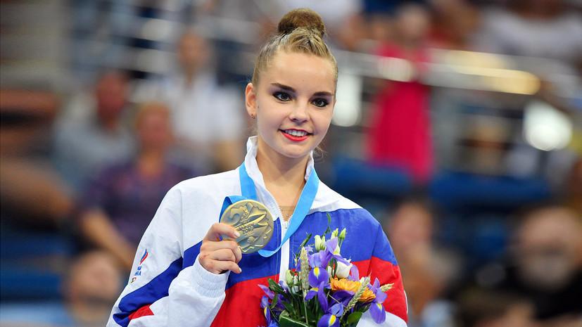 Дина Аверина признана лучшей спортсменкой Европейских игр 2019 года