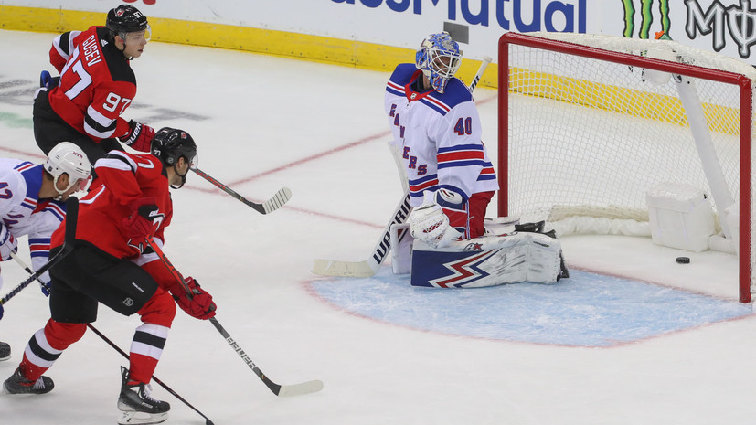 Шайба Гусева помогла «Нью-Джерси» одержать первую победу в сезоне НХЛ