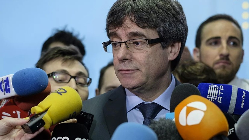 Пучдемон пришёл в бельгийскую прокуратуру